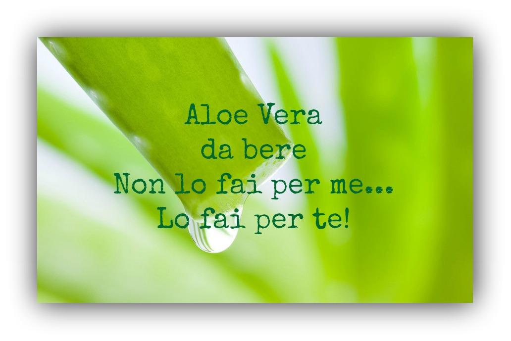 Inizia a cambiare le tue abitudini: inizia a bere succo di Aloe Vera!